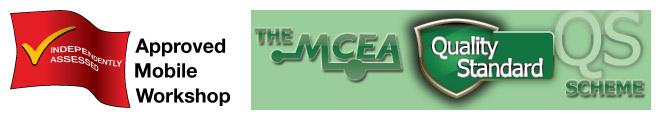 AWS and MCEA logos